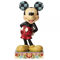 "Jim Shore Disney Traditions - Mickey Mouse 24"" Statement Statue - The Main Mouse"