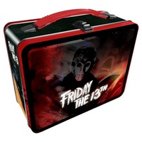 Friday the 13th Lunch Box Tin Tote