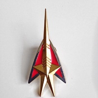 Star Trek: The Next Generation Red Squadron Member Cloisonne Metal Pin