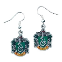 Harry Potter - Slytherin Crest Earrings