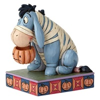 Jim Shore Disney Traditions - Eeyore in Mummy Costume - Melancholy Mummy Statue