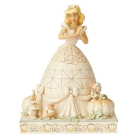 Jim Shore Disney Traditions - Cinderella - White Woodland Darling Dreamer