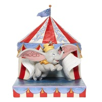 Jim Shore Disney Traditions - Dumbo - Once Over the Big Top