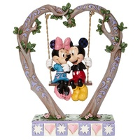 Jim Shore Disney Traditions - Mickey & Minnie Mouse - Sweethearts in Swing