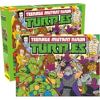 Nickelodeon TMNT 500pc Jigsaw Puzzle