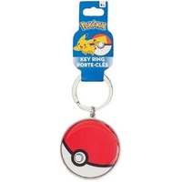 Pokemon - Pokeball Metal Keyring