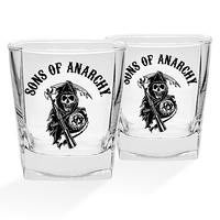 Sons Of Anarchy Set of 2 Spirit Glasses