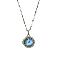 Doctor Who Gallifreyan Locket Necklace