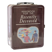 Beetlejuice Handbook Tin Carry All Lunch Box