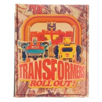 The Transformers Sublimated Print Bi-Fold Wallet