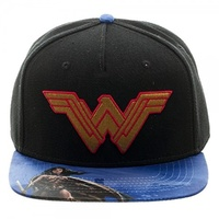 Batman V Superman Cap - Wonder Woman Snapback