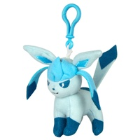 Pokemon Eeveelution Clip On Plush - Glaceon