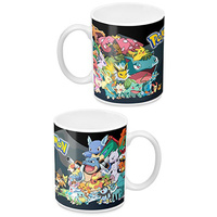 Pokemon Coffee Mug Sides Group