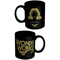 Wonder Woman Black Gold Mug