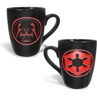 Star Wars Coffee Mug Darth Vader Etched Logo Mug