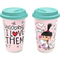 Despicable Me Travel Mug Edith and Unicorns