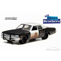Blues Brothers Bluesmobile - 1:64 Scale