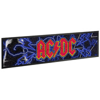 ACDC FLAME HIGHWAY TO HELL BAR RUNNER