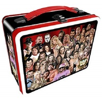 WWE Legends Large Tin Tote Lunch Box