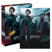 Harry Potter and the Goblet of Fire Movie Poster 500 Piece Puzzle
