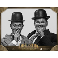 "Laurel & Hardy - Classic Suits 1:6 Scale 12"" Action Figures 2-pack (Free Shipping)"