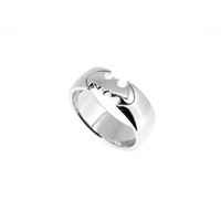 DC Comics - Batman Stirling Silver Ring