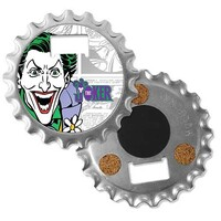 DC Comics 3 in 1 Gadget - Bottle Opener Coaster Magnet - Joker