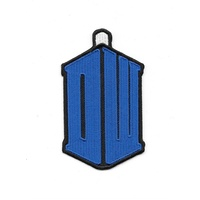 Doctor Who British TV Series Matt Smith Tardis Logo Embroidered Patch