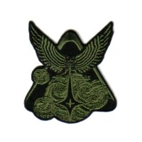 "Firefly TV/Serenity Movie Alliance Olive Logo 4"" Patch"