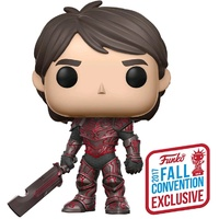 Trollhunters - Jim Red Armor NYCC 2017 US Exclusive Pop! Vinyl [RS]