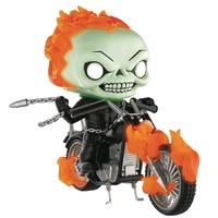 Ghost Rider - Ghost Rider Glow US Exclusive Pop! Ride