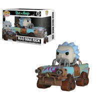 Rick and Morty - Mad Max Rick Pop! Ride