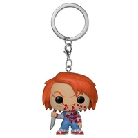 Child's Play - Chucky Blood Splattered US Exclusive Pocket Pop! Keychain [RS]