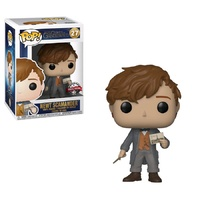 Fantastic Beasts 2: The Crimes of Grindelwald - Newt with Postcard US Exclusive Pop! Vinyl [RS]