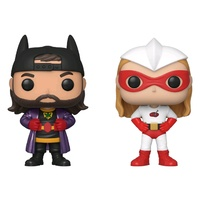 Jay & Silent Bob - Chronic & Bluntman NYCC 2019 US Exclusive Pop! Vinyl 2-pack [RS]