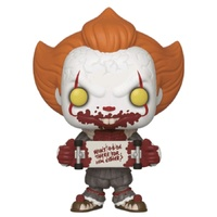 It: Chapter 2 - Pennywise with Skateboard US Exclusive Pop! Vinyl [RS]