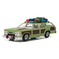 National Lampoons Vacation 1979 Family Truckster Wagon Queen w/ Rooftop Luggage