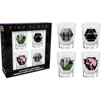 Pink Floyd Mix 1 Shot Glasses
