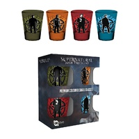 Supernatural Premium Coloured Shot Glasses