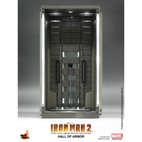 Hot Toys Iron Man 3 - Hall of Armour Diorama (Single) 1:6 Scale (Free Shipping)