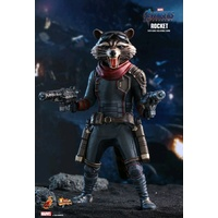 Avengers 4: Endgame - Rocket Raccoon 1:6 Scale Hot Toy Action Figure (Free Shipping)