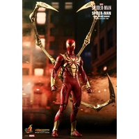 "Spider-Man (Video Game 2018) - Iron Spider Armor 1:6 Scale 12"" Action Figure (Free Shipping)"