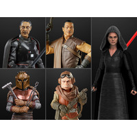 Star Wars The Black Series 6-Inch Action Figures Wave 3 - Set of 5
