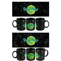 Rick & Morty - In the Stars Heat Change Mug