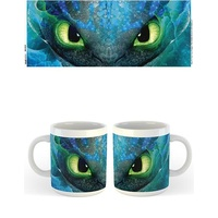 How To Train Your Dragon 3 - Toothless Face Printed Mug