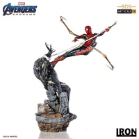 Avengers 4: Endgame - Iron Spider vs Outrider 1:10 Scale Statue (Free Shipping)