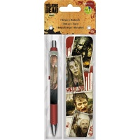 The Walking Dead Zombies Pen & Bookmark Pack