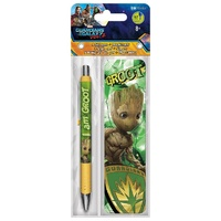Guardians of the Galaxy Volume 2 Groot Pen & Bookmark Pack