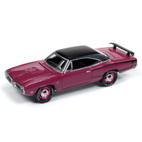 Johnny Lightning 1:64 Scale Classic Gold - 1970 Dodge Coronet Super Bee