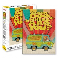 Scooby Doo 500 Piece Jigsaw Puzzle – Where Are You?